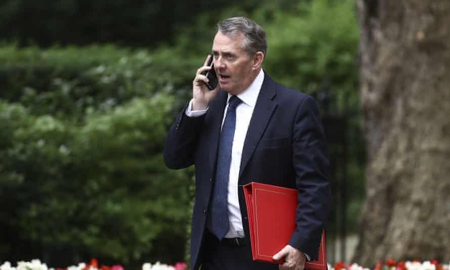 The international trade secretary, Liam Fox