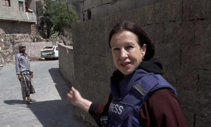 Lyse Doucet on a recent trip to Yemen.