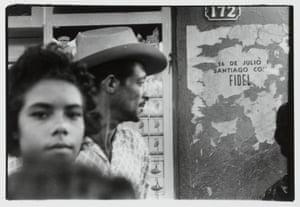 At the Bayamo suburb of órgano Manzanillo, Cuba,1963.
