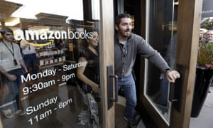 Amazon's first bricks-and-mortar store, in Seattle