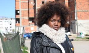 Liliana Jordão, 27, a resident of the Bairro da Jamaica neighbourhood.