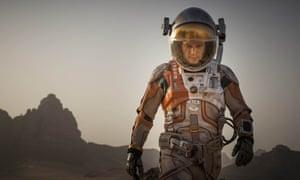 Matt Damon finally makes his way home in The Martian.