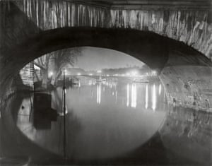 View through the pont Royal toward the pont Solferino c 1933 c Estate Brassai Succession Paris