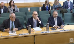 The TSB team at the Treasury select committee
