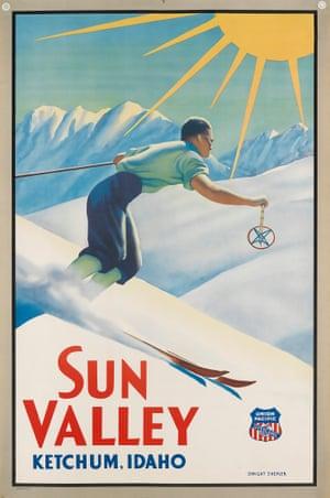 Dwight Clark Shepler, Sun Valley / Ketchum Idaho, circa 1940