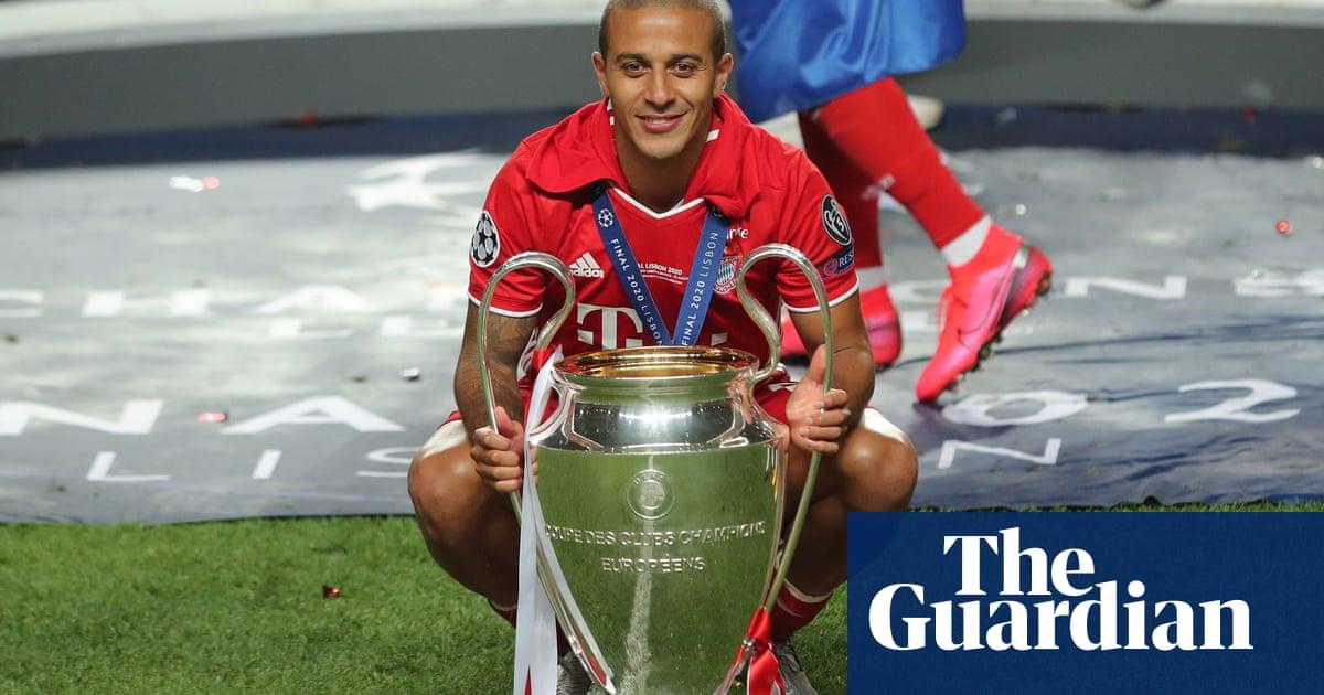 Liverpool agree £27m fee to sign Thiago Alcântara from Bayern Munich