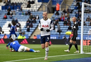 gareth bale finishes off the foxes.