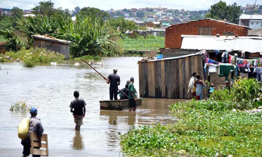 Tropical Cyclone Chedza hits Madagascar ANTANANARIVO, MADAGASCAR