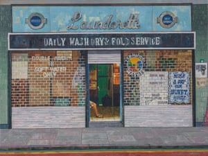 Launderette, Ben Jonson Road, Bow, 1983
