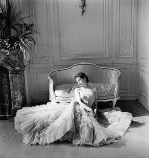 Eugenie dress autumn - winter 1948. Haute couture collection