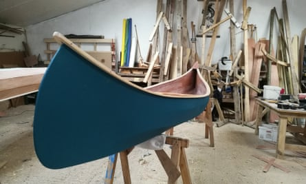 ORCA Adventures canoe building holiday