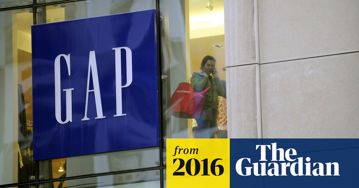 b754564730 Gap accused of sexism over 'social butterfly' children's T-shirt ad ...
