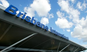 Brisbane international airport terminal