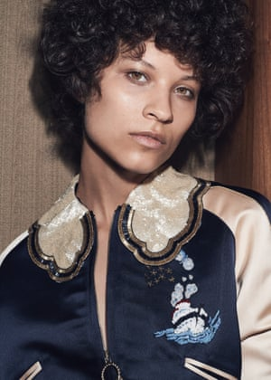 Nautical at Hilfiger Collection, embellished duchess satin bomber, £800 (tommy.com)