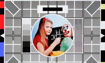 Remember them? BBC's test card F.