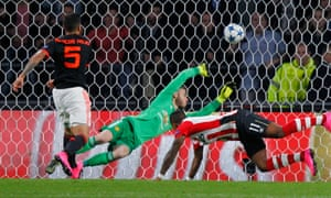 Narsingh nods in the second for PSV.