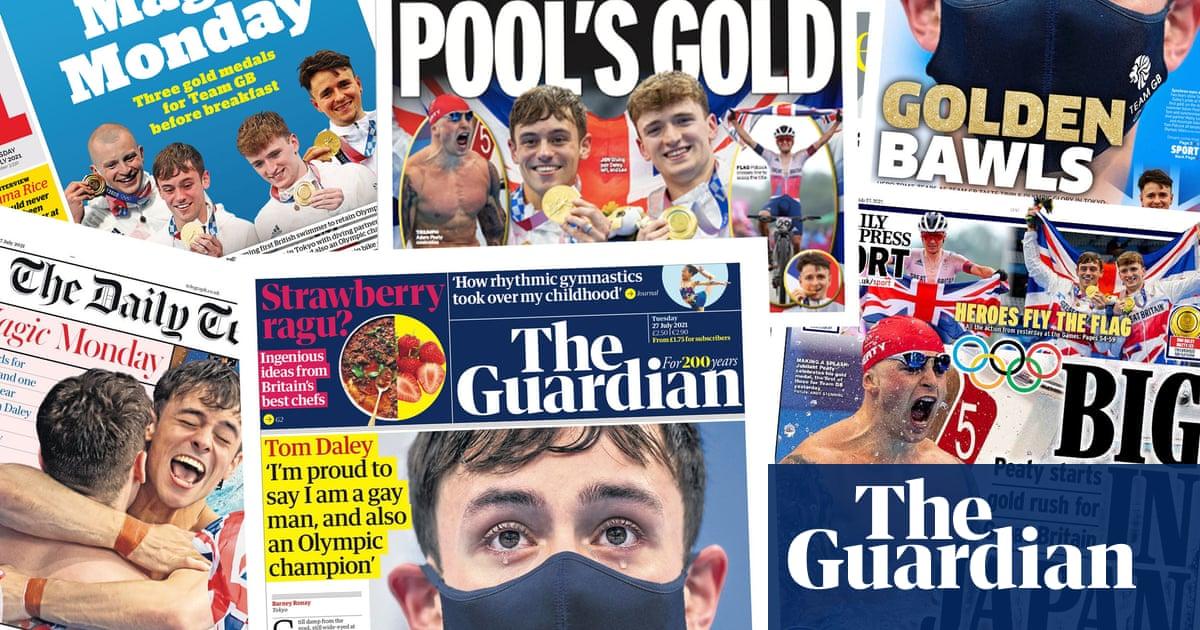 Lunes mágico: cómo los periódicos celebraron la gloria olímpica del equipo GB