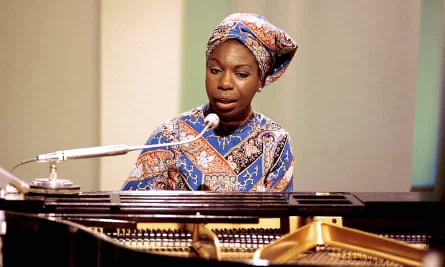 Nina Simone performing at BBC Television Centre, London, 1966