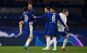 Delight for the Blues at Stamford Bridge.