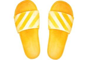 Yellow sliders