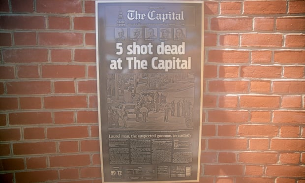 Maryland newspaper gunman gets five life sentences without parole