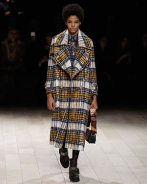 Greatcoats were among Burberry's standout pieces