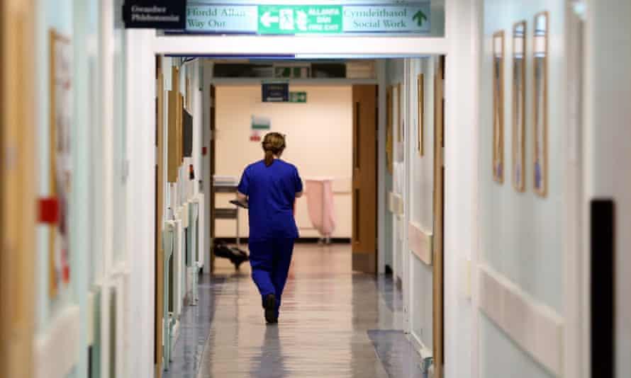 Nurse in a Cardiff hospital