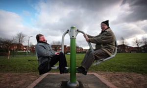 Playground for older people in Manchester