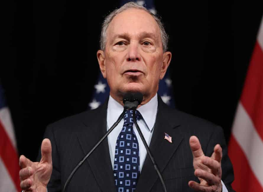 Michael Bloomberg: 'It's a galling failure of our democracy that Bloomberg's wealth can be deployed to such ends.'