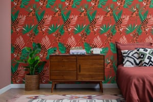 'Headache-inducing' … the Margot, from MuralsWallpaper's Anderson Aesthetic collection.
