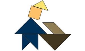 Trump as tangram.