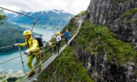 Via Ferrata Loen, Norway