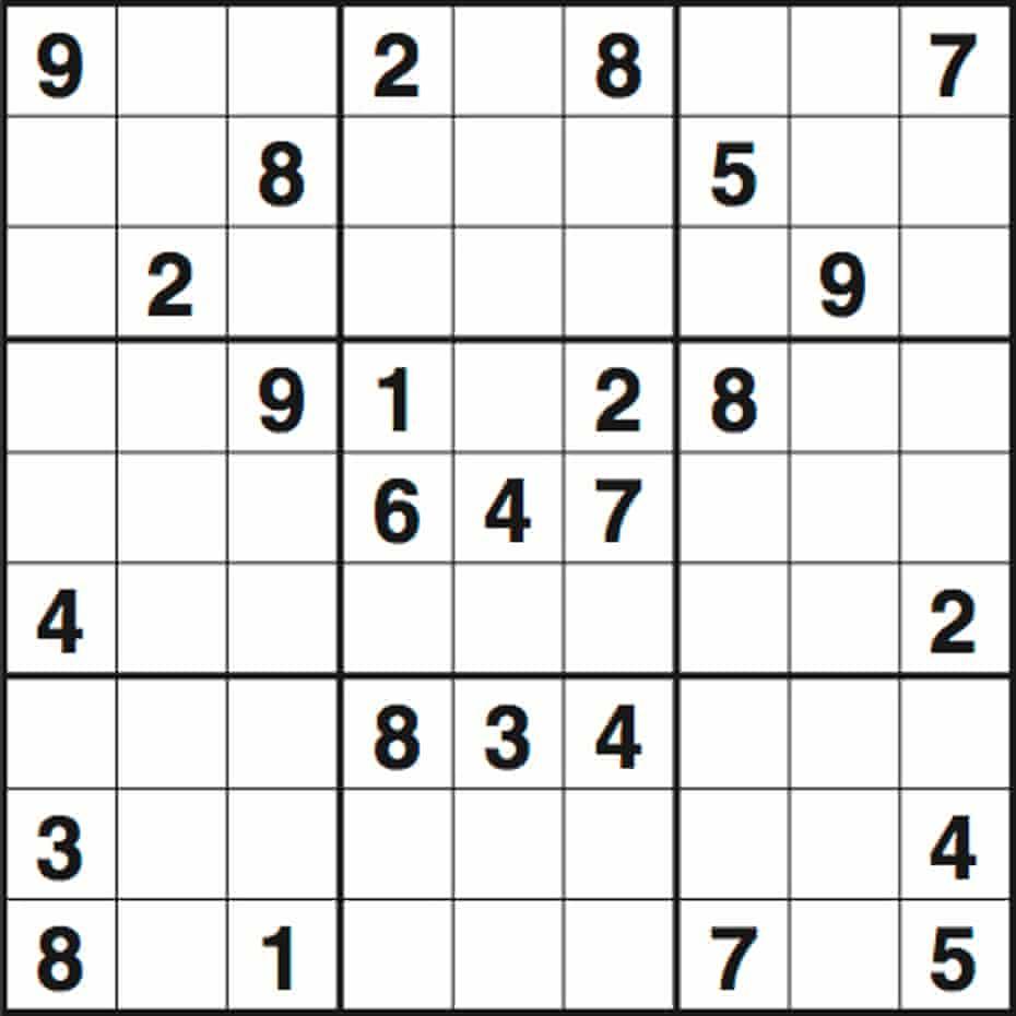 Sudoku 3477 hard