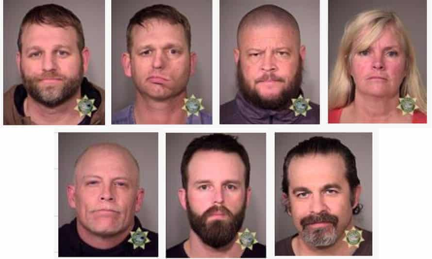 Ammon Bundy and several others were arrested.