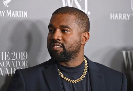 Kanye West attends the WSJ Magazine 2019 Innovator Awards