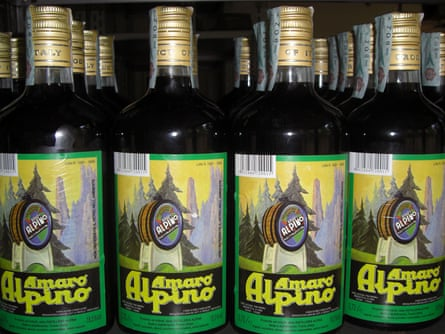 Amaro Alpino alcohol