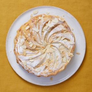 For dessert: Merlin Labron-Johnson's quince and almond pithivier.