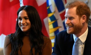 Meghan, Duchess of Sussex, with Prince Harry
