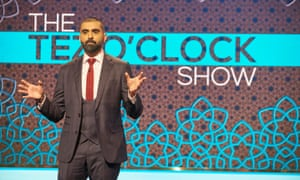 Tez Ilyas has introduced working-class comics on his Tez O'Clock Show.