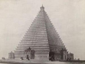 Pyramid proposed in Trafalgar Square