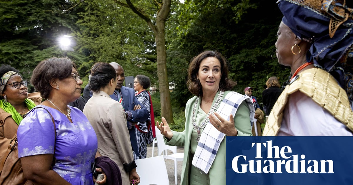 Amsterdam mayor apologises for city's past role in slave trade