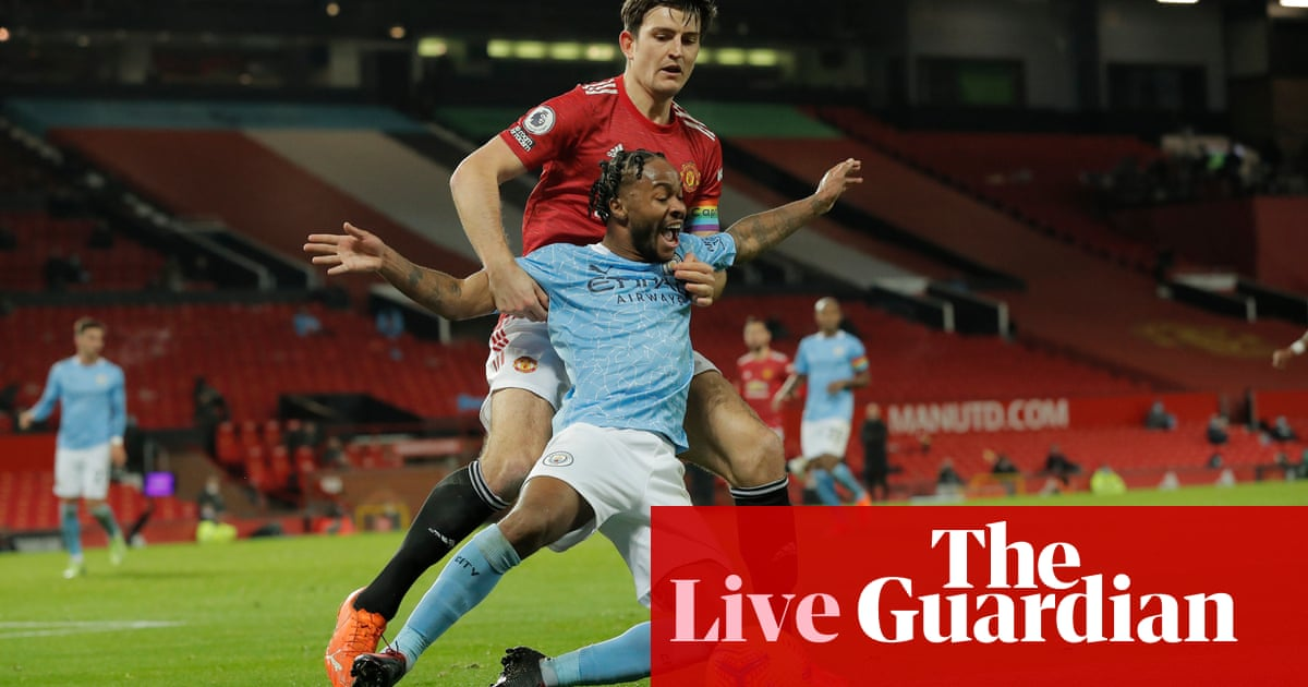 Manchester United v Manchester City: Premier League – live!