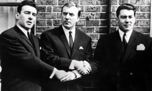 The Kray Brothers Reginald, Charles and Ronald (left to right), undated.