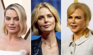 (L-R) Margot Robbie, Charlize Theron, and Nicole Kidman.