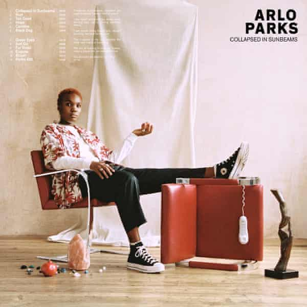 Arlo Parks: Collapsed in Sunbeams album cover