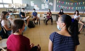 A school in the Israeli city of Modiin.