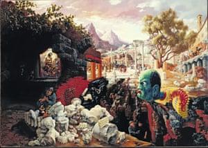 Peter Blume's Eternal City, 1934-37.
