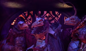 The squabbling, preening Skeksis are an accurate representation of boors who somehow gain power.