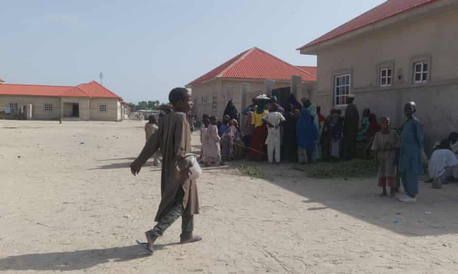 The government in Maiduguri has installed 13,000 IDPs in a housing estate