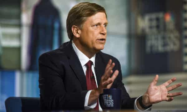 Michael McFaul, former US ambassador to Russia and the author of From Cold War to Hot Peace, on Meet the Press 29 April.